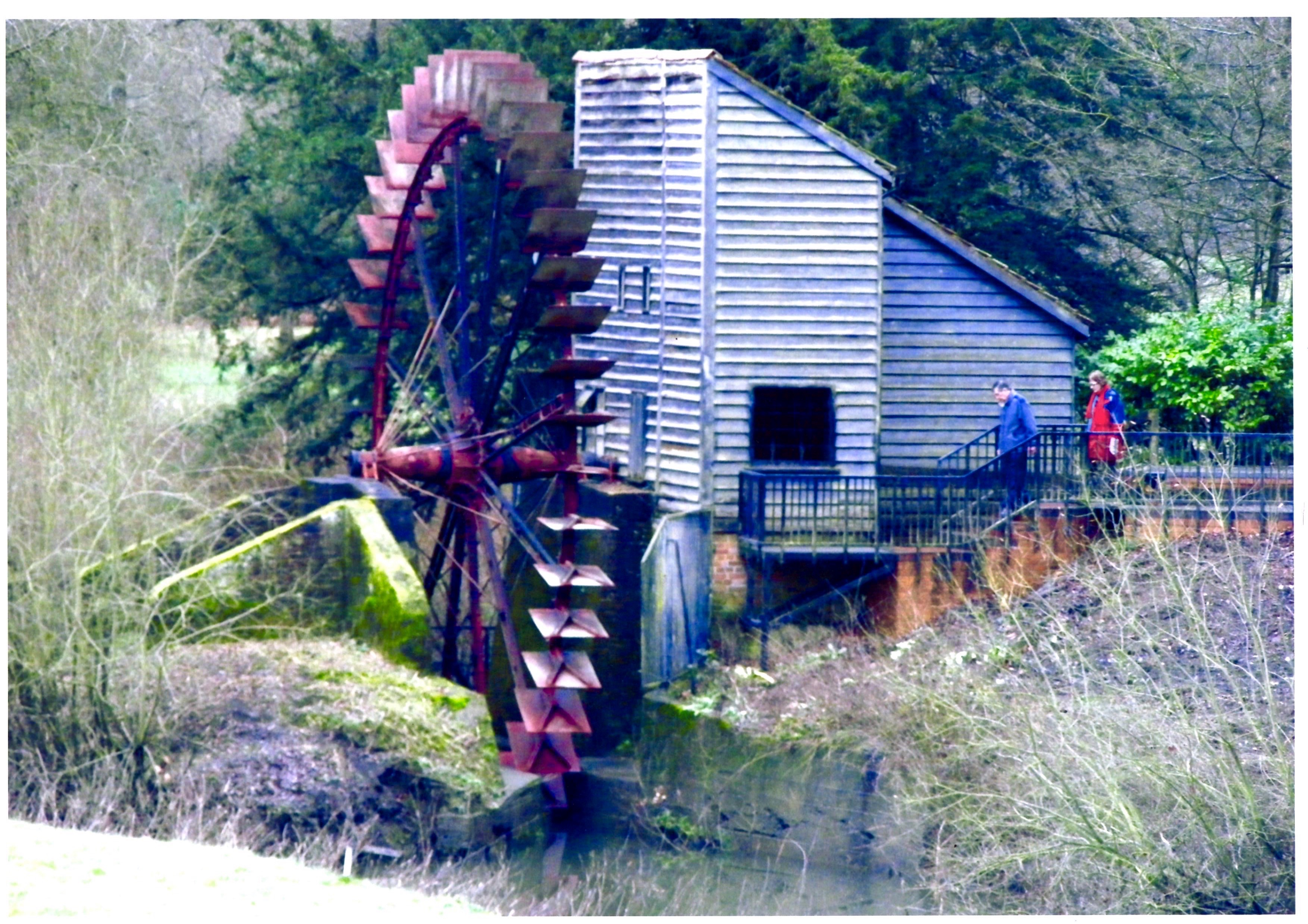 Painshill Waterwheel